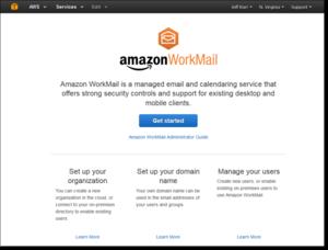 amazon workmail