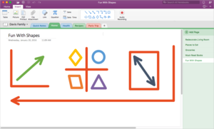 onenote january update 1b