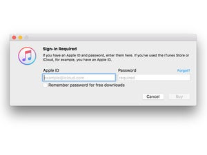 apple id signin itunes 12