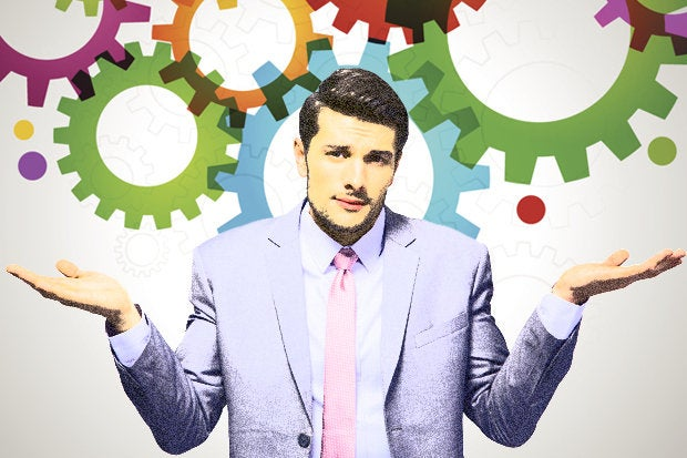 confusion automation confused businessman