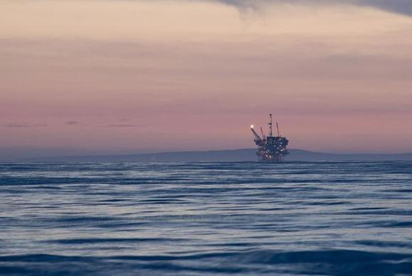 sunset oil rigdsc 4701