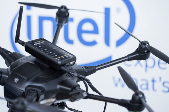 intel mobile world congress 2016 drones
