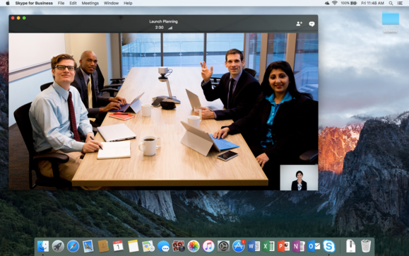 Skype for Business is coming to Macs.