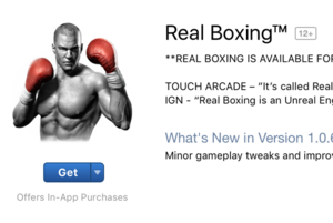 real boxing app store
