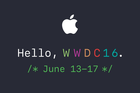 Apple sends out invites for WWDC 2016