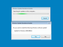 The shame of Windows Update