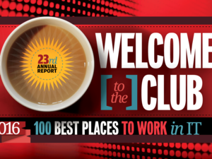 Computerworld's Best Places to Work in IT 2016 - Welcome to the Club