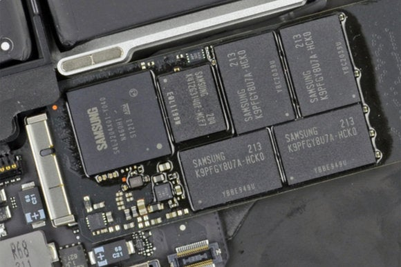 mbp flash storage