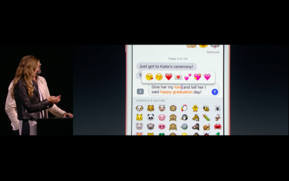 wwdc ios 10 emoji messages