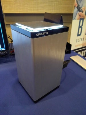 Gigabyte Brix Gaming UHD Front View 1