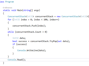 ConcurrentStack