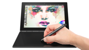 lenovo yoga book painting create mode landscape