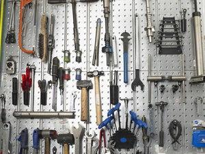 tools tool rack