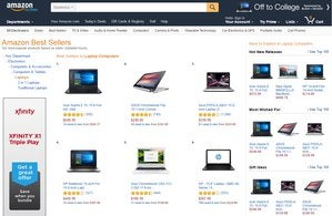 top five laptops amazon aug 8 1034