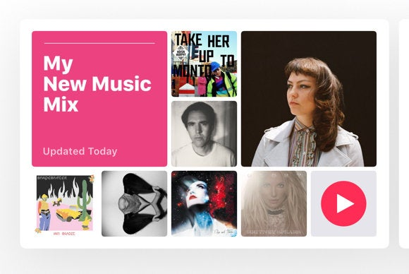 apple music ios 10 personalized playlists