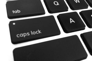 caps lock apple keyboard