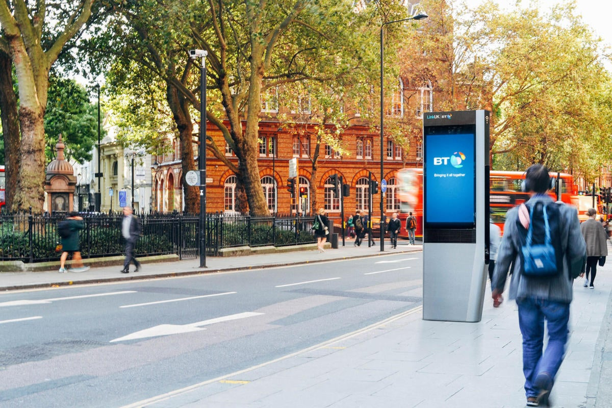 LinkUK arrives in London to provide people with free Wi-Fi