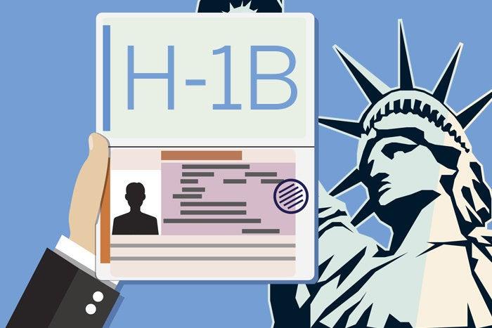 H-1B visa Statue of Liberty America