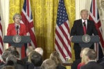Trump, May agree to take on ISIS in cyberspace