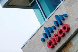 cisco logo building