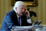 Worried about hacks, senators want info on Trump's personal phone