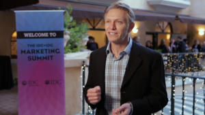 Mark Weiner of Versa at the IDC+IDG Marketing Summit